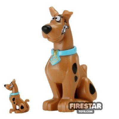 LEGO Scooby-Doo Figure - Scooby-Doo - Sitting