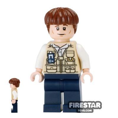 LEGO Jurassic World Figure - Vet - Bowl Haircut
