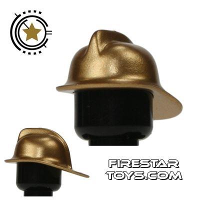 LEGO - Fireman Helmet - Gold
