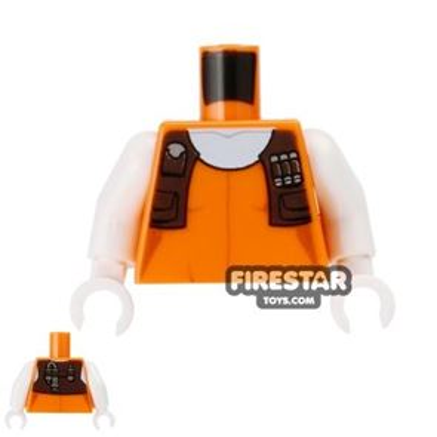 LEGO Mini Figure Torso - Aurra Sing