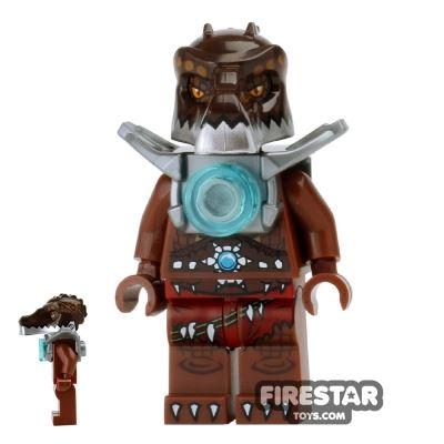 LEGO Legends of Chima Mini Figure - Crug - Flat Silver Armour