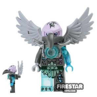 LEGO Legends of Chima Mini Figure - Vornon - Flat Silver Armour