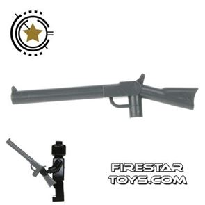 LEGO Gun - Rifle - Dark Blueish Gray