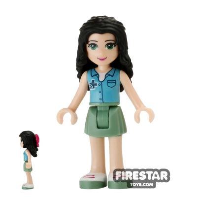 LEGO Friends Mini Figure - Emma - Ambulance Top