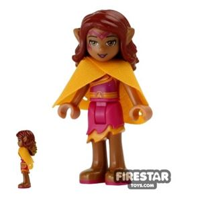 LEGO Elves Mini Figure - Azari Firedancer with Cape