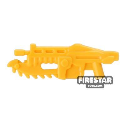 BrickForge - Gears of War - Shredder Gun - Bright Light Orange