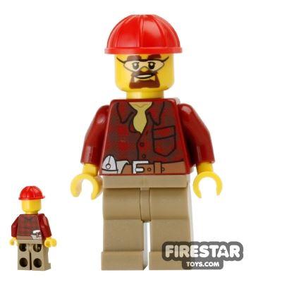 LEGO City Mini Figure - Demolition Manager