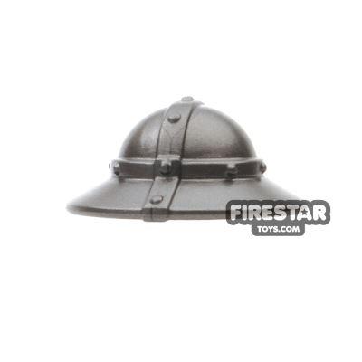BrickWarriors - Kettle Helm - Steel