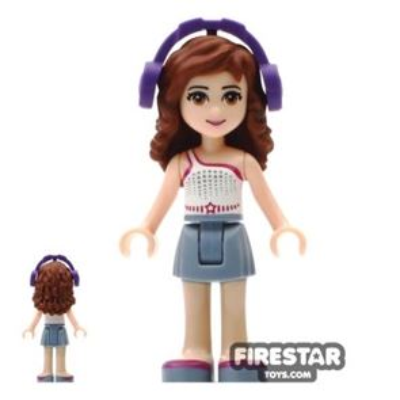 LEGO Friends Mini Figure - Olivia - Headphones
