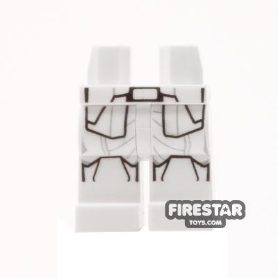 LEGO Mini Figure Legs - First Order Snowtrooper