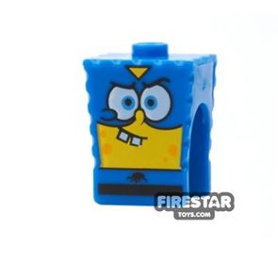 LEGO Mini Figure Heads - SpongeBob SquarePants - Super Hero