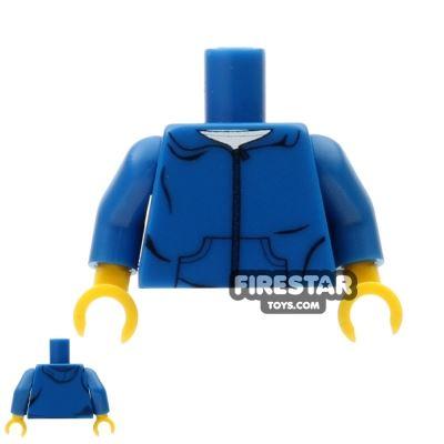 Custom Design Torso - Blue Hoodie