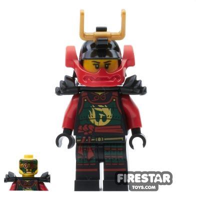 LEGO Ninjago Mini Figure - Nya - Samurai - Black Armour