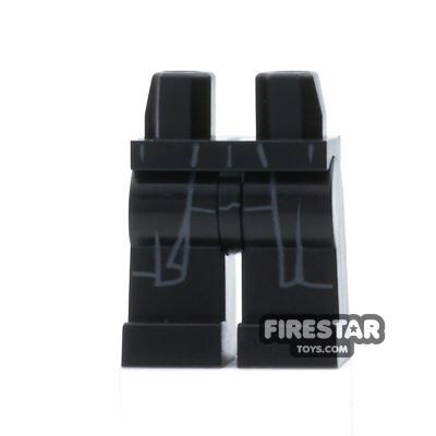 LEGO Mini Figure Legs - Black - Coattails