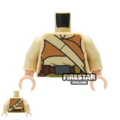 LEGO Mini Figure Torso - Female Resistance Fighter