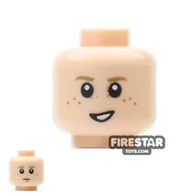 LEGO Mini Figure Heads - Anakin - Freckles