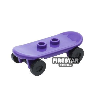 LEGO - Skateboard - Dark Purple