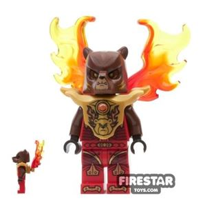 LEGO Legends of Chima Mini Figure - Bladvic - Armour with Flame Wings