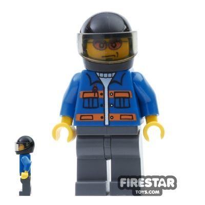 LEGO City Mini Figure - Helicopter Pilot