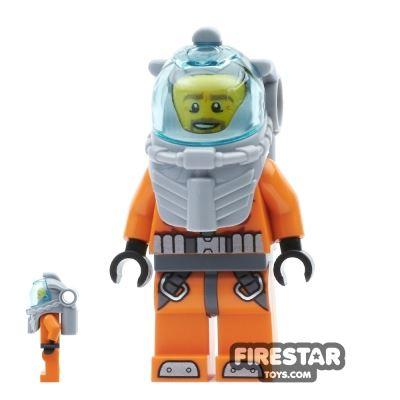 LEGO City Mini Figure - Deep Sea Diver
