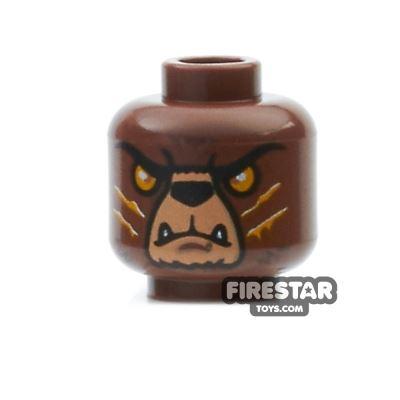 LEGO Mini Figure Heads - Bear - Bladvic