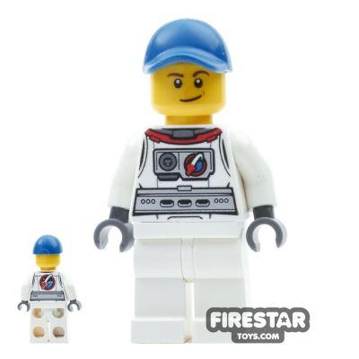 LEGO City Mini Figure - Astronaut with Cap