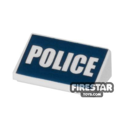 Printed Slope 1x2x2/3 - Police