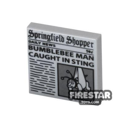 Printed Tile 2x2 - Springfield Shopper Newspaper