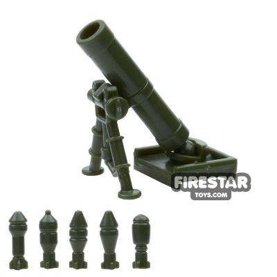 SI-DAN - M2 Mortar 60mm - Tank Green