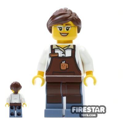 LEGO City Mini Figure - City Square Barista