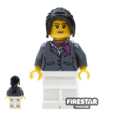 LEGO City Mini Figure - City Square Car Saleswoman