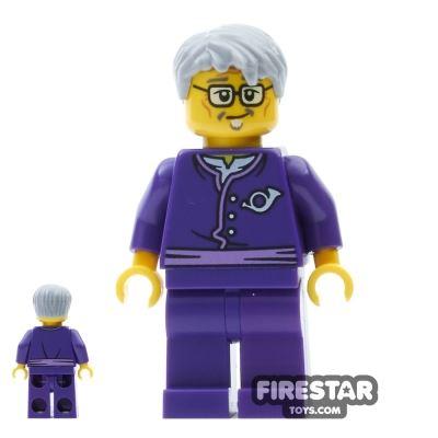 LEGO Ninjago Mini Figure - Postman