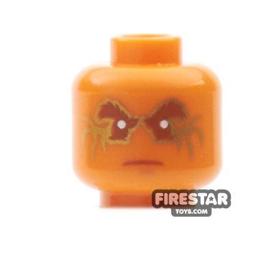 LEGO Mini Figure Heads - Airjitzu Cole