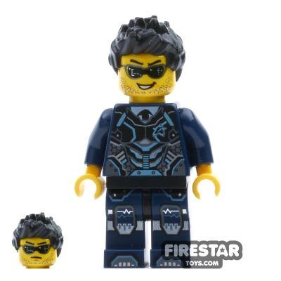 LEGO Ultra Agents Mini Figure - Agent Steve Zeal