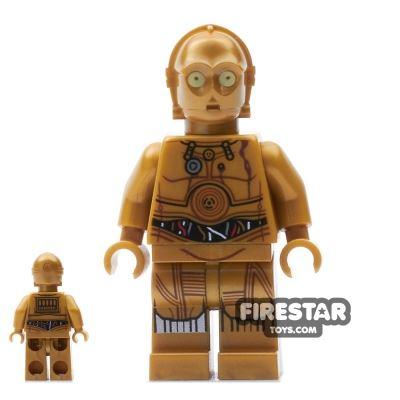 LEGO Star Wars Mini Figure - C-3PO - Printed Legs