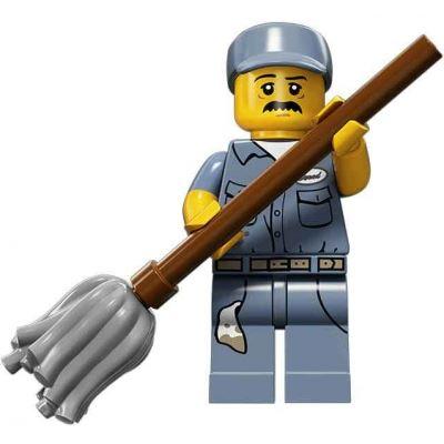 LEGO Minifigures - Janitor