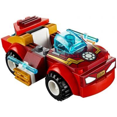 Custom Mini Set - Super Heroes - Iron Man Sports Car