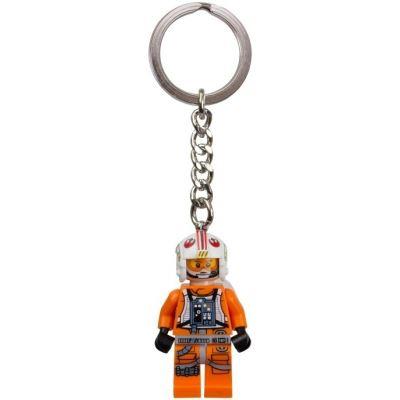 LEGO Key Chain - Star Wars - Luke Skywalker Pilot