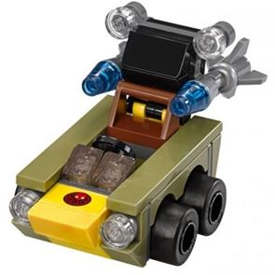 Custom Mini Set - Super Heroes - Micro Red Skull Car