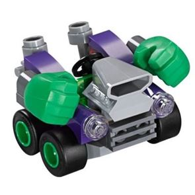 Custom Mini Set - Super Heroes - Micro Hulk Car