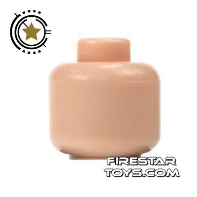 LEGO Mini Figure Heads - Plain Light Flesh