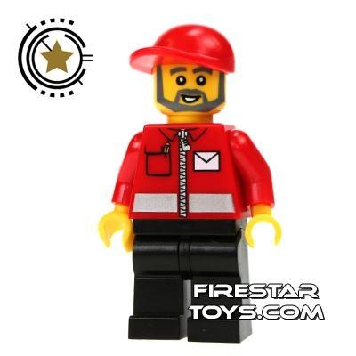 LEGO City Minifigure Post Office Worker