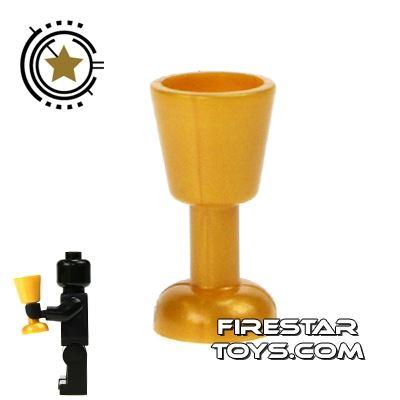 LEGO - Goblet - Pearl Gold