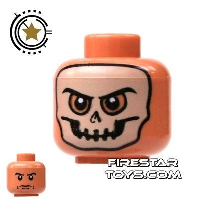 LEGO Minifigure Heads Skull Mask
