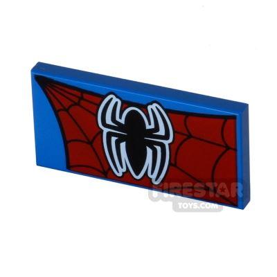 Printed Tile 2x4 - Spider Man