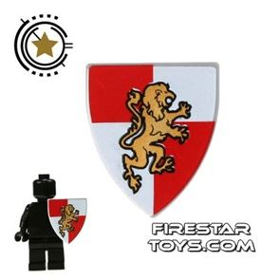 LEGO - Gold Lion Shield