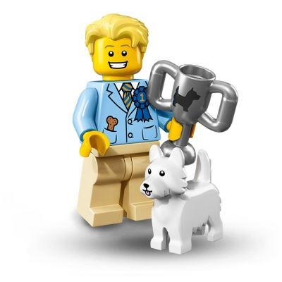 LEGO Minifigures - Dog Show Winner