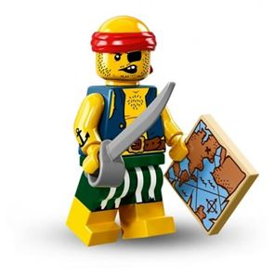 LEGO Minifigures - Scallywag Pirate
