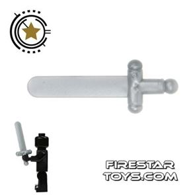 LEGO - Castle Sword - Light Gray