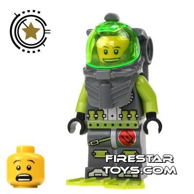 LEGO Atlantis Mini Figure - Diver Bobby